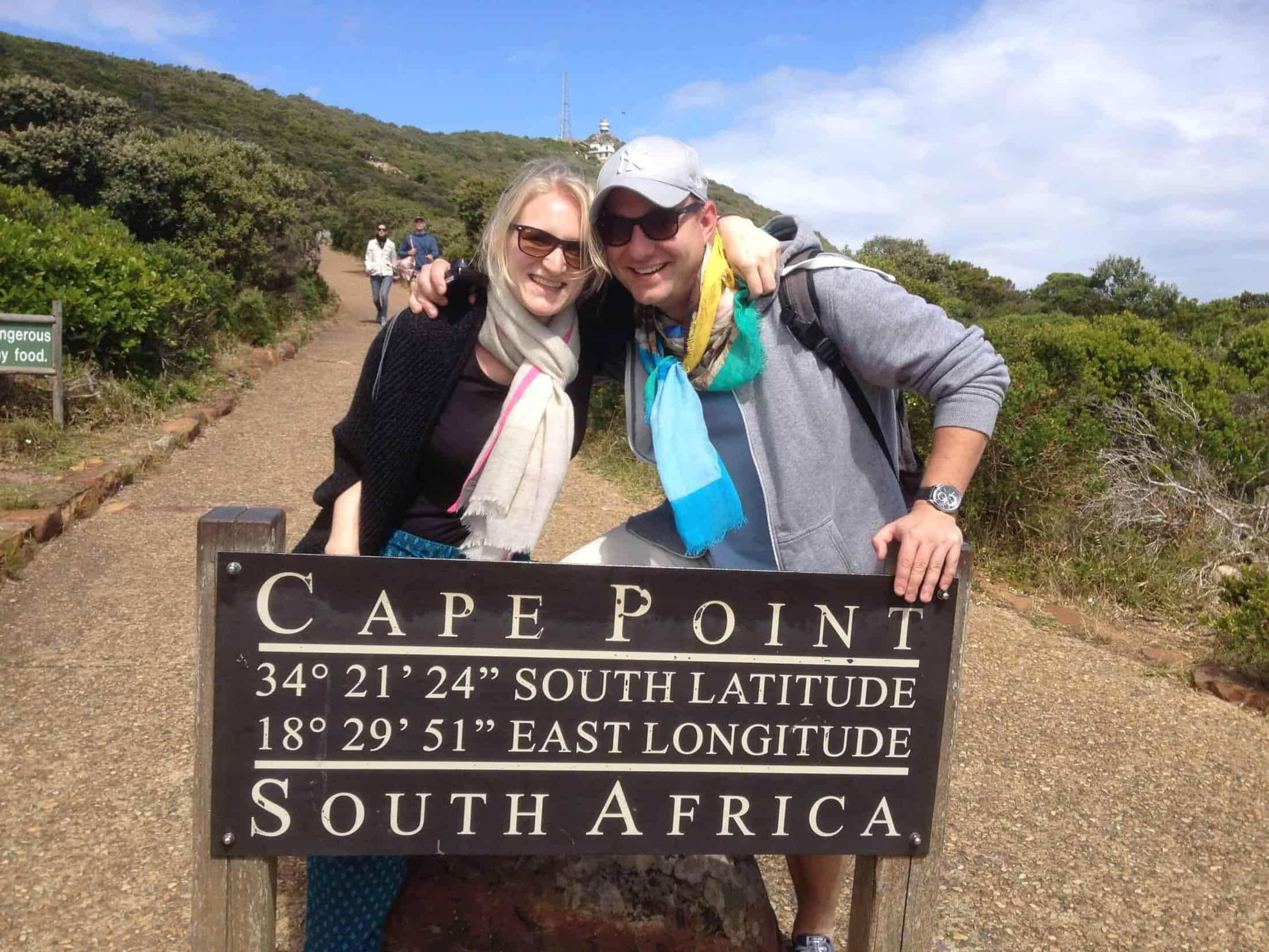 Lena und Martin Pavel in Südafrika