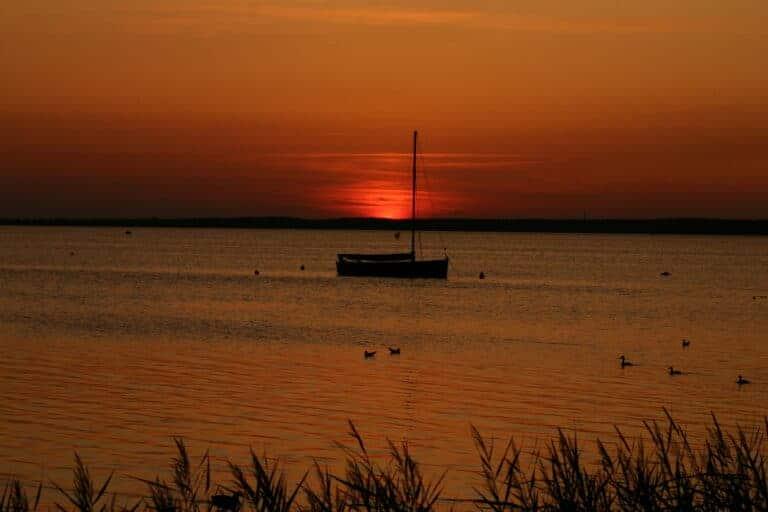 Sonnenuntergang Wunstorf Steinhuder Meer