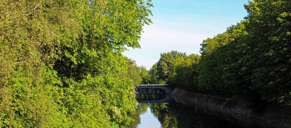 Bäderlandschaft und Wasserflächen